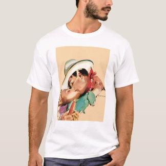 T-shirt Cowboy romantique