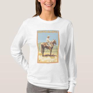 T-shirt Cowboy (vue de côté) le Dakota du Sud