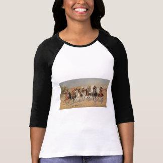 T-shirt Cowboys vintages, un tiret pour le bois de
