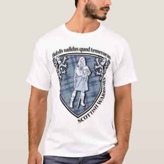 T-shirt Cpy horizontal de guerrier des montagnes