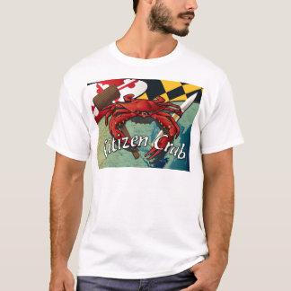 T-shirt Crabe de citoyen avec le maillet et le couteau