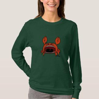 T-shirt crabe fâché
