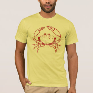 T-shirt Crabe rouge