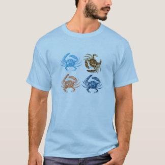 T-shirt Crabes