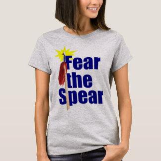 T-shirt Craignez la chemise de Chi de Tai de lance