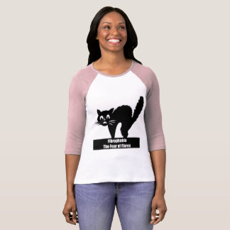 T-shirt Crainte de Fibrophobia de chemise de fusées