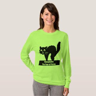 T-shirt Crainte de Fibrophobia de chemise de fusées pour