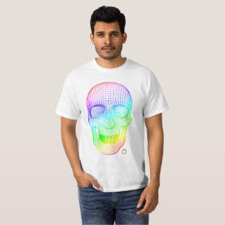 T-shirt Crâne 3D coloré