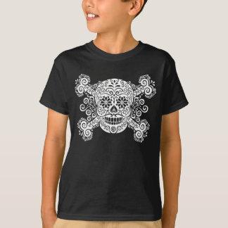 T-shirt Crâne antique et os croisés de sucre