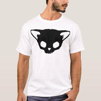 T-shirt Crâne de chat noir de Kuginh™