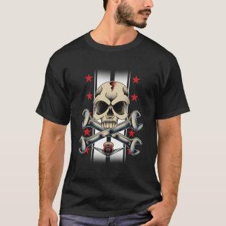 T-shirt Crâne de hot rod