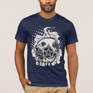 T-shirt Crâne de tabagisme de sucre