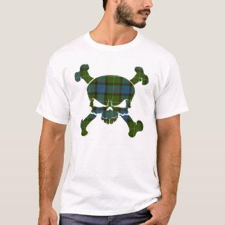 T-shirt Crâne de tartan de Ferguson aucune chemise de