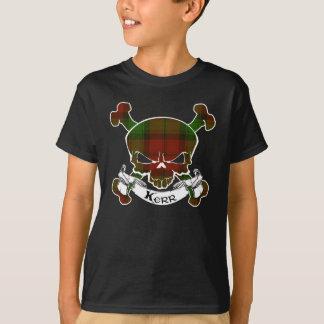 T-shirt Crâne de tartan de Kerr