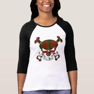 T-shirt Crâne de tartan de MacDuff