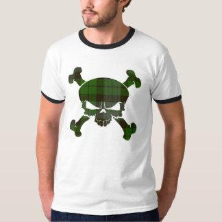 T-shirt Crâne de tartan de MacKay aucune bannière