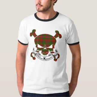 T-shirt Crâne de tartan de MacKinnon