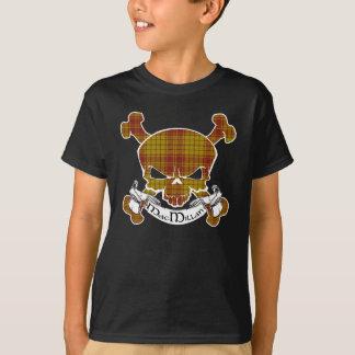 T-shirt Crâne de tartan de MacMillan