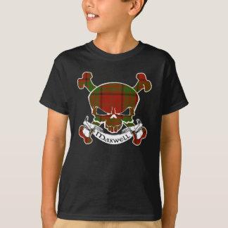 T-shirt Crâne de tartan de Maxwell