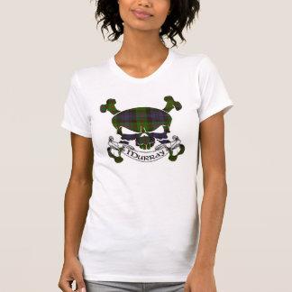 T-shirt Crâne de tartan de Murray