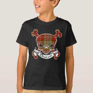 T-shirt Crâne de tartan d'Ogilvie