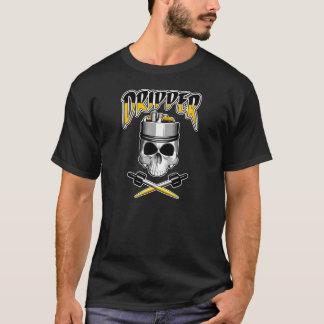 T-shirt Crâne de Vape : Dispositif d'écoulement