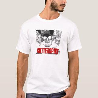 T-shirt crâne d'émeute de gutterspike