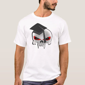 T-shirt Crâne d'obtention du diplôme