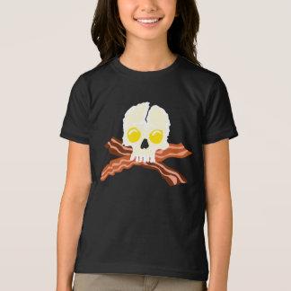 T-shirt Crâne d'oeufs d'os croisés de lard