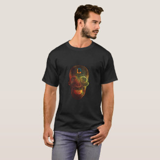 T-shirt Crâne du feu 3D