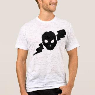 T-shirt Crâne et boulon d'éclairage !