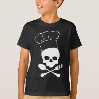 T-shirt Crâne et chef d'os croisés
