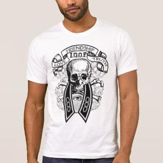 T-shirt Crâne et collier de VOL de camarades impairs