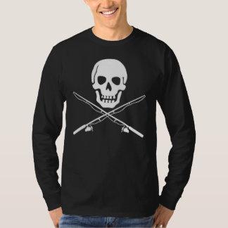 T-shirt Crâne et épines dorsales