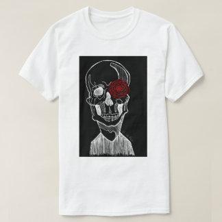 T-shirt Crâne et fleur