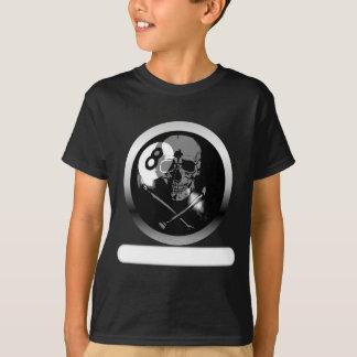 T-shirt Crâne et os croisés de 8 boules