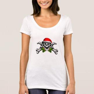 T-shirt Crâne et os croisés de Noël