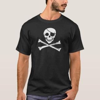 T-shirt Crâne et os croisés de pirate