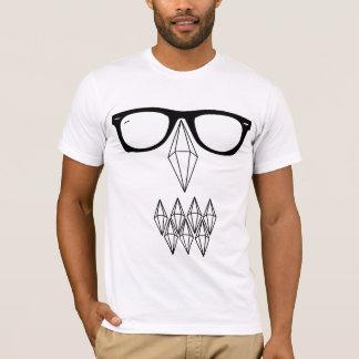 T-shirt Crâne et verres