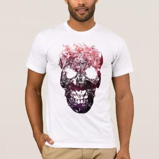 T-shirt Crâne floral