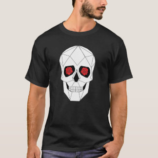 T-shirt Crâne géométrique
