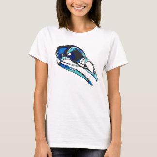 T-shirt Crâne graphique de Raven : couleurs fraîches