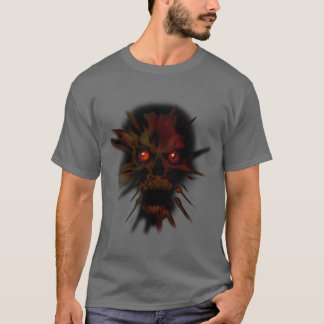 T-shirt Crâne hanté