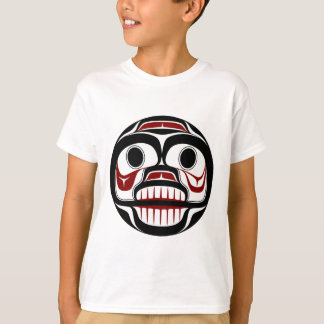 T-shirt Crâne pleurant de Haida du nord-ouest de Côte