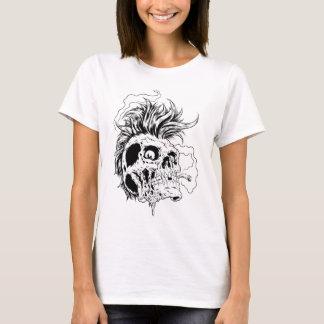 T-shirt Crâne punk