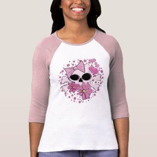 T-shirt Crâne punk Girly