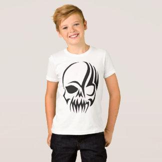 T-shirt Crâne Shirt gauchement pour des enfants