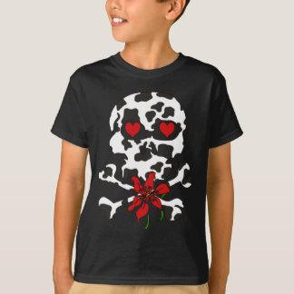 T-shirt Crâne Valentine de vache