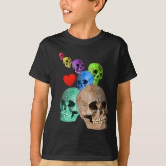 T-shirt Crânes !