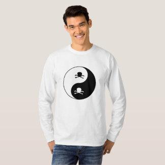 T-shirt Crânes de Yin et de yang
